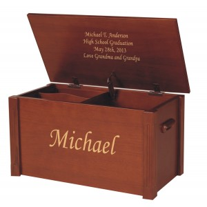 Medium Wooden Memory Chest