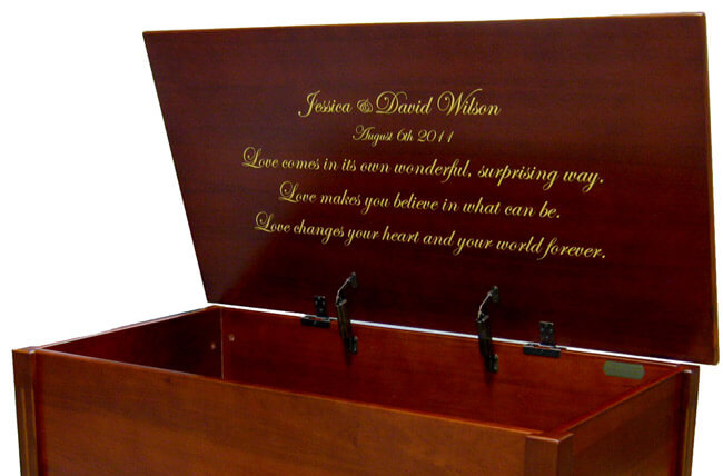Wooden Memory Box Chests Handcrafted Keepsake Boxes Memorial